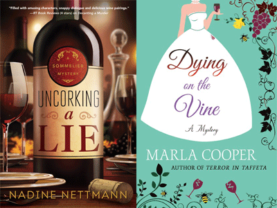Cover images for Uncorking a Lie and Dying on the Vine