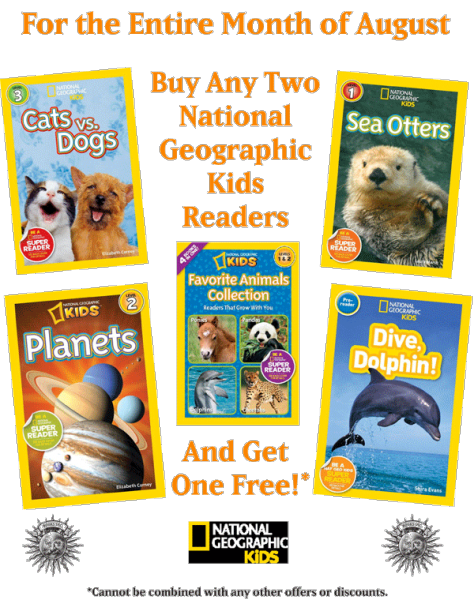 Nat Geo Sale Buy Two Get One Free