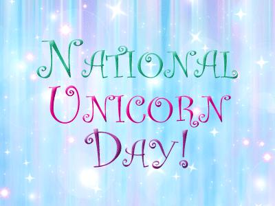 National Unicorn Day banner