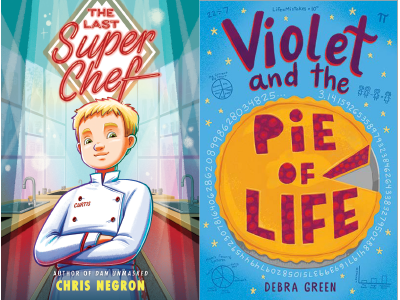 The Last Super Chef and Violet and the Pie of Life cover images