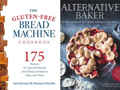 cover images for Gluten-Free Bread Machine ckbk & Alternative Baker