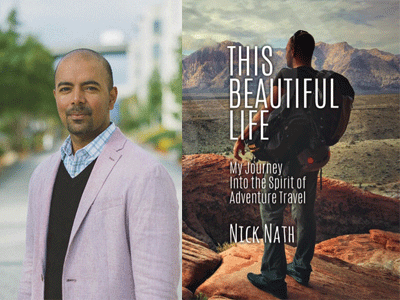 Nick Nath author photo and This Beautiful Life cover image