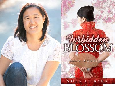 Nola Li Barr author photo and cover image
