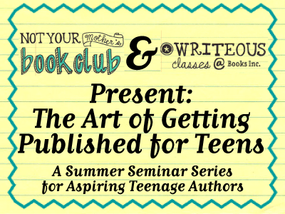 The Art of Getting Published for Teens banner