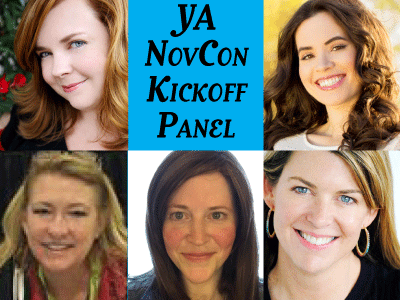 author photos for NovCon panel