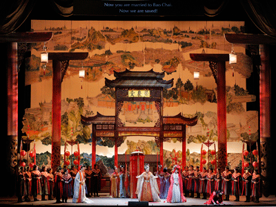 Dream of the Red Chamber stage shot San Francisco Opera