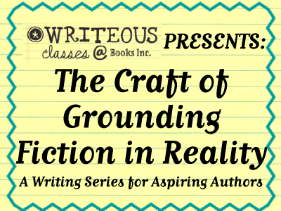 Craft of Grounding Fiction