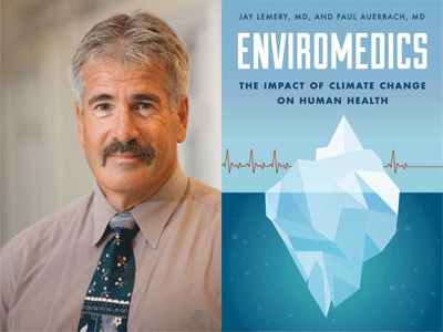 Paul Auerbach author photo and Enviromedics cover image
