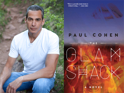 Paul Cohen author photo and Glamshack cover image