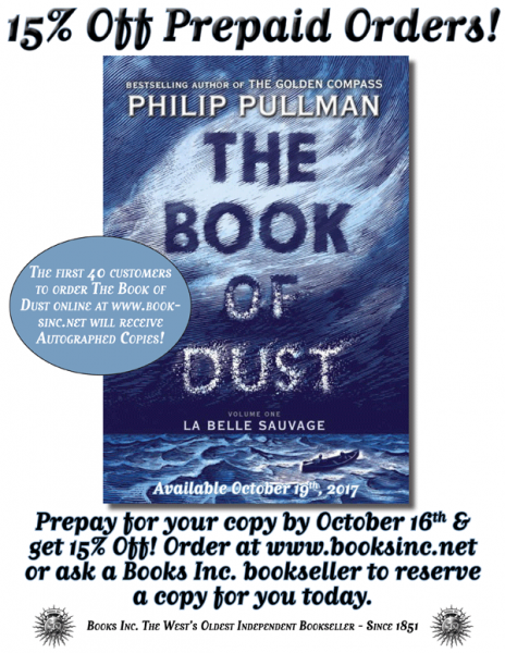 Philip Pullman preorder poster