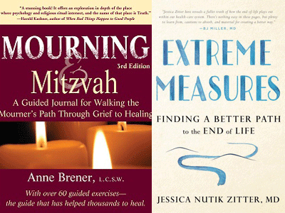 Mourning Mitzvah and Extreme Measures cover images