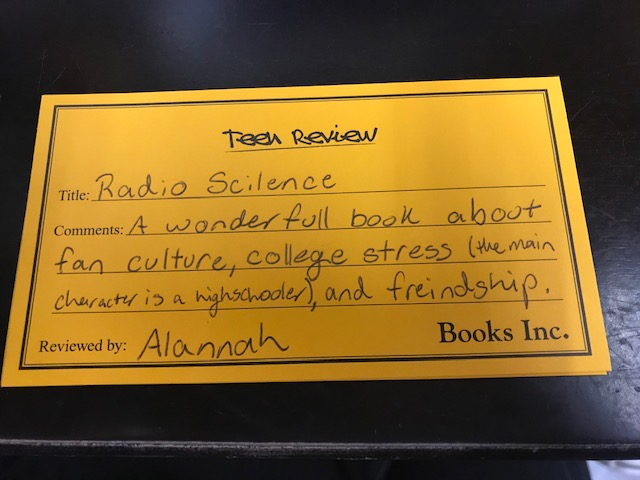 Teen Review for Radio Silence by Alice Oseman