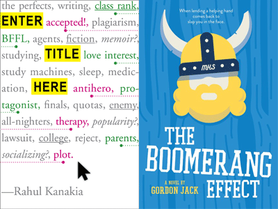cover images for Enter Title Here and The Boomerang Effect