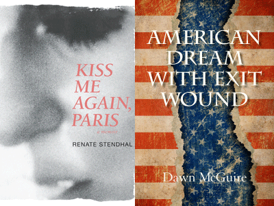 cover images for Kiss Me Again Paris and American Dream With Exit Wound