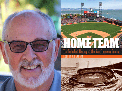 Robert F Garratt author photo and Home Team cover image