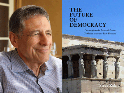 Steve Zolno author photo Future of Democracy cover image