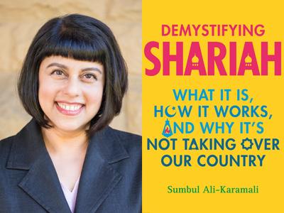 Sumbul Ali-Karamali author photo Demystifying Shariah cover image