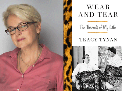Tracy Tynan author photo and Wear and Tear cover image