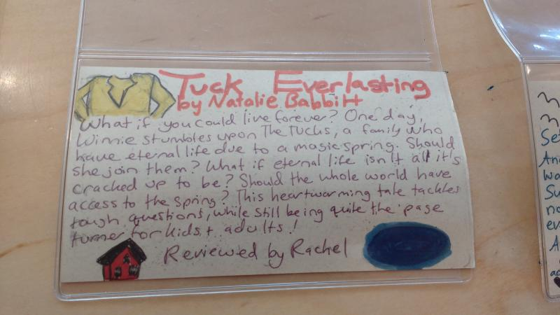 Review of Tuck Everlasting by Natalie Babbit