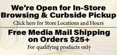 We're Open for In-Store Browsing banner linking to store locations and hours