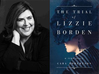 CARA ROBERTSON photo and book cover