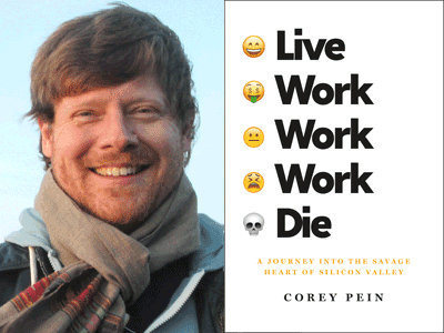COREY PEIN authr photo and cover