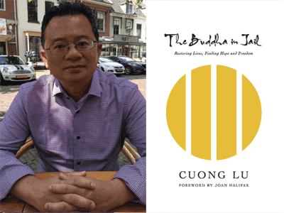 Cuong Lu author photo and  cover image