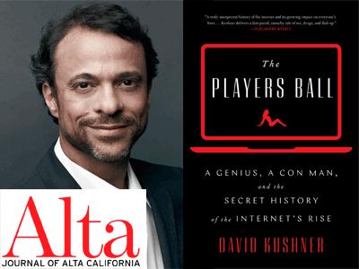 david kushner photo and book cover