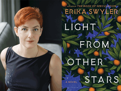 ERIKA SWYLER photo and book cover