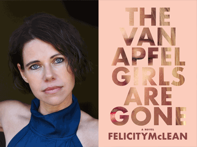 FELICITY McLEAN author photo and cover image
