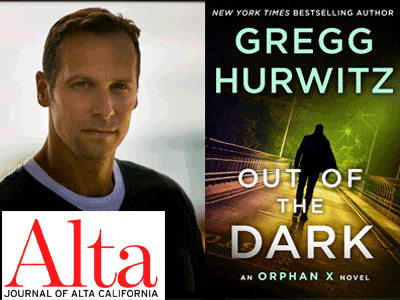 GREGG HURWITZ photo and book cover