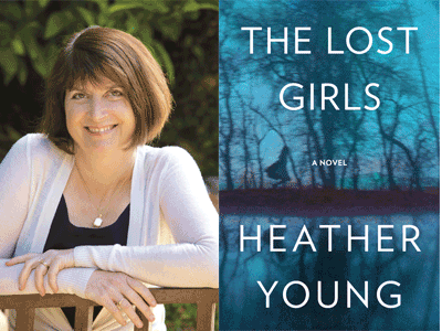 Heather Young at Books Inc. in Laurel Village