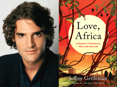 Jeffrey Gettleman photo and book cover