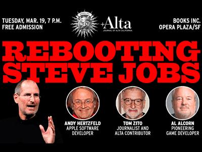 "Alta Magazine & Books Inc. Present ""Rebooting Steve Jobs' Legacy"""
