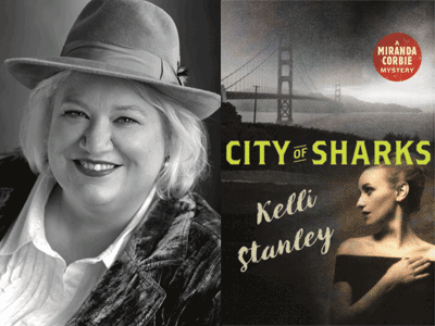 kelli stanley photo and book cover