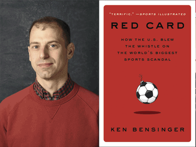 ken bensinger photo and book cover