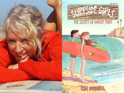 Kim Dwinell author photo and cover image