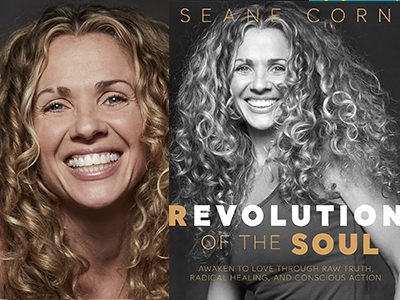 seane corn author photo and book cover