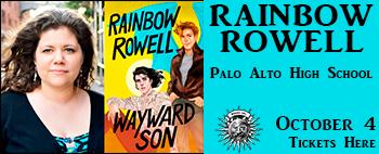rainbow rowell at Palo Alto High Banner