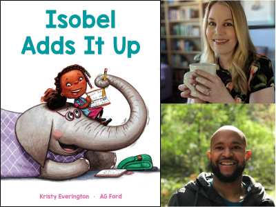 Isobel Adds It Up cover image and profile pics of Kristy Everington and AG Ford