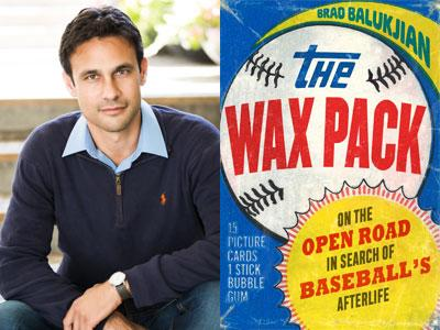 Brad Balukjian author photo and The Wax Pack cover image