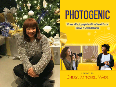 Cheryl Mitchell Wade author photo and Photogenic cover image