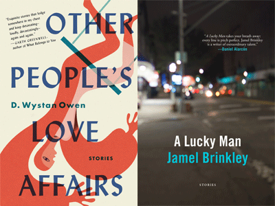 cover images for Other People's Love Affairs and A Lucky Man