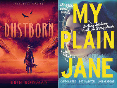 cover images for Dustborn and My Plain Jane