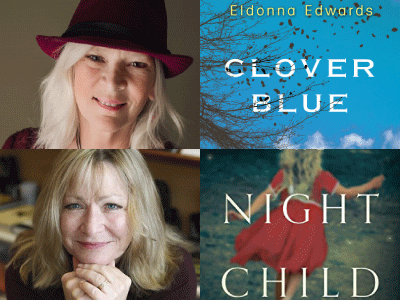 author and cropped cover images for Eldonna Edwardsa nd Anna Quinn