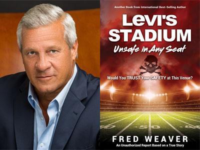 Fred Weaver author photo and Levi's Stadium cover image