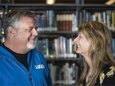 Gene Kahane and Cathy Dana photo