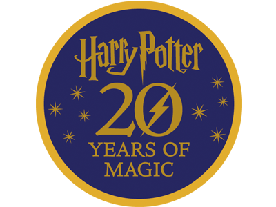 Harry Potter 20 Years of Magic banner round