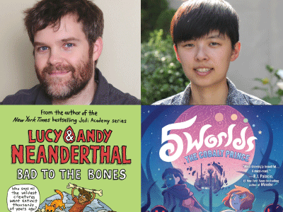 author and cropped cover images for Jeffrey Brown and Boya Sun