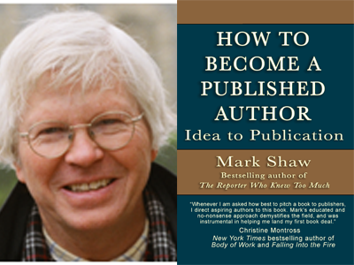 Mark Shaw author photo and How To Become a Published Author cover image
